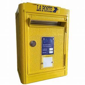 Boite Aux Lettres La Poste : boite cl s boite aux lettres la poste rose bunker ~ Melissatoandfro.com Idées de Décoration