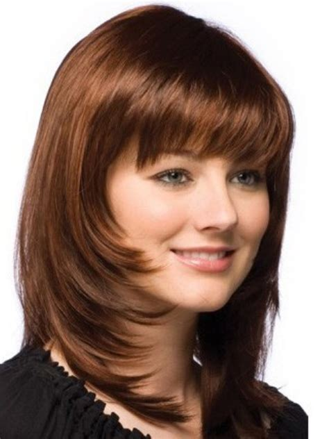 Length Hairstyles For Faces by Trendy Medium Length Hairstyles For Faces Pictures