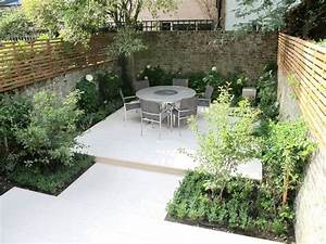 briques bois gris metal jardin terrasse balcon With ordinary eclairage allee de jardin 9 terrasse jardinet