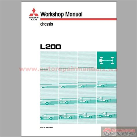 mitsubishi l200 1997 2002 repair manual auto repair manual forum heavy equipment forums