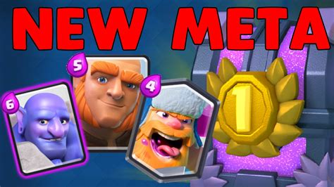Meta Decks Clash Royale by Clash Royale Buffed Decks New Meta Bowler
