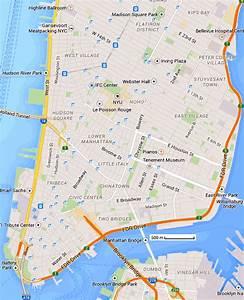 Plan De Manhattan : new york city carte and plans trouver une adresse ~ Melissatoandfro.com Idées de Décoration