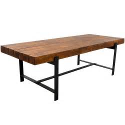 industrial kitchen furniture industrial iron acacia wood 94 quot large rustic dining table