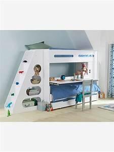 Lit Enfant Combiné : lits mezzanine enfant ~ Farleysfitness.com Idées de Décoration