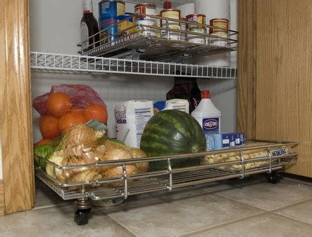 Kitchen Pantry Roll Out With Wheels by Kitchen Organization Storage Ideas 28 Organizing