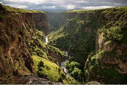 Kazakhstan Canyon Aksu Hiking Nature River Natural