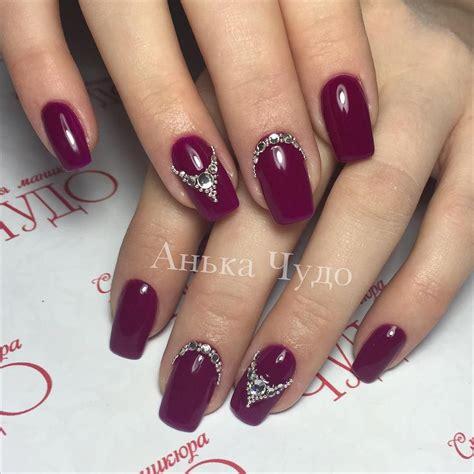 rote nägel design nagellack bordeaux rot nageldesign ideen annachudo nails bordeaux parfum de