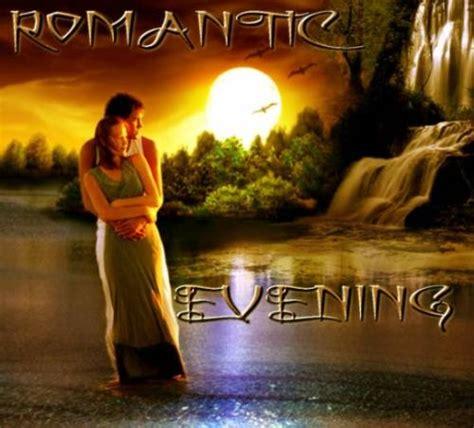 romantic evening good evening graphics  facebook