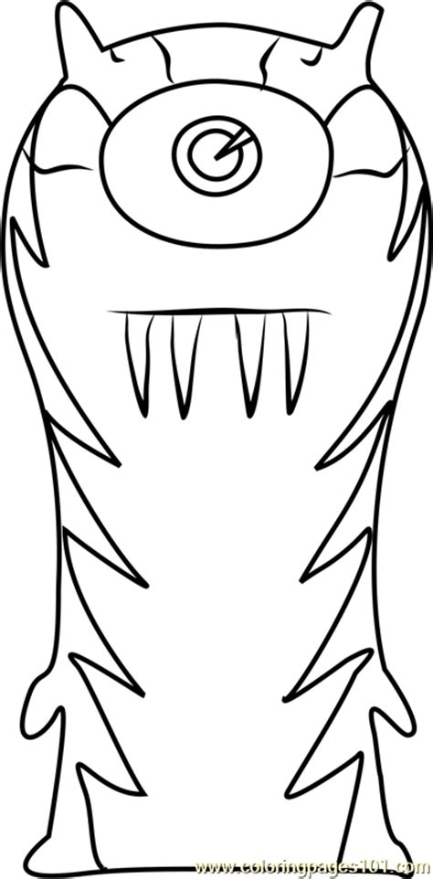 goon coloring page  slugterra coloring pages coloringpagescom