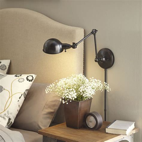 17 best ideas about wall mounted bedside table on
