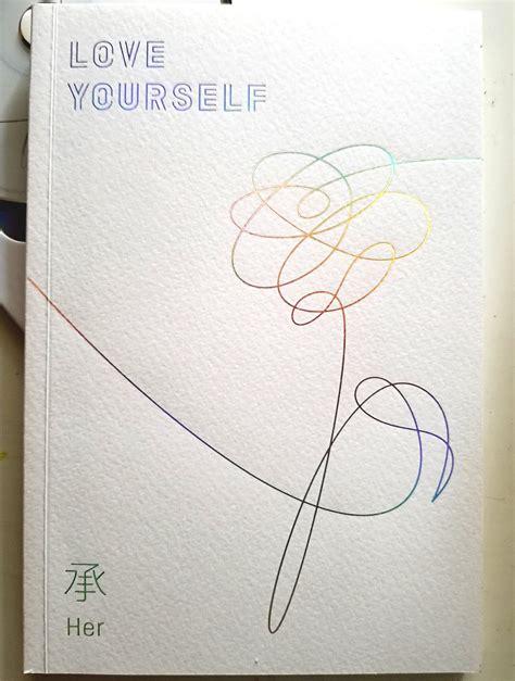 "The Bookworm: Album Unboxing #3: ""Love Yourself 承 'Her'"" BTS"