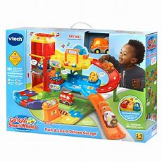 Galleon  Vtech Go! Go! Smart Wheels Park And Learn Deluxe Garage