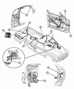 Dodge Dakota Wiring  Body  Without Mini