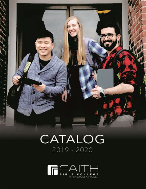 catalog faith bible college