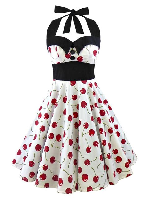 robe retro pin up rockabilly rock ange hell 50 s style rockabilly pinup