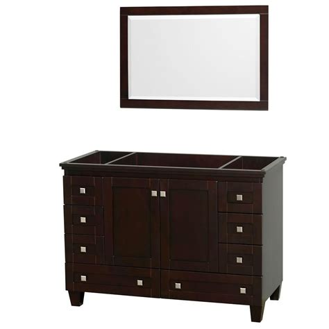 wyndham collection acclaim 48 inch vanity cabinet with