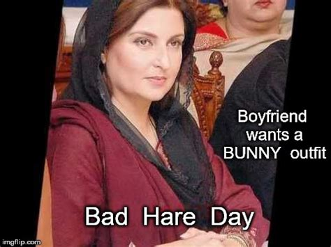 Bunny outfit - Bad Hare day - Imgflip