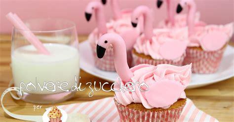tutorial  ricetta flamingo cupcakes  realizzare