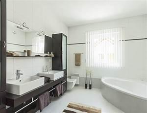 Photo Salle De Bain Moderne : salle de bain moderne lams services ~ Premium-room.com Idées de Décoration