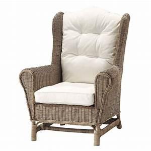 Chauffeuse Maison Du Monde : fauteuil en rotin hampto fauteuil de jardin maisons du monde ~ Teatrodelosmanantiales.com Idées de Décoration