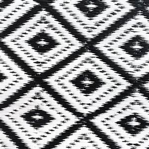 Outdoor Teppich Schwarz Weiß : garten im quadrat outdoor teppich arabien schwarz wei ~ Whattoseeinmadrid.com Haus und Dekorationen
