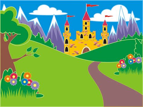 castle clipart fairytale pencil   color castle