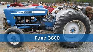 Ford 3600 Tractor Parts