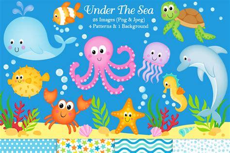 Under the sea clipart Under the sea graphics