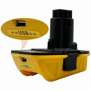Dewalt  Usb Converter Dca1820 Slide Battery Adapter 10 8v
