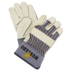 klt new black series glove large mustang grain leather palm gloves