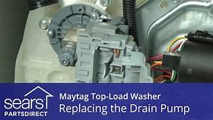 How To Replace The Drain Pump On A Maytag Vertical Modular
