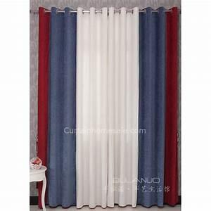 Vorhänge Rot Weiß : jungen schlafzimmer vorh nge in rot blau und wei kombinierte farben f r ko ~ Orissabook.com Haus und Dekorationen