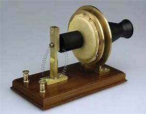 Bells First Telephone Antique Business Communication