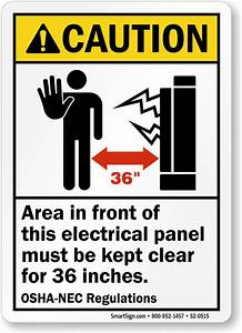 electrical panel labels With electrical panel warning labels