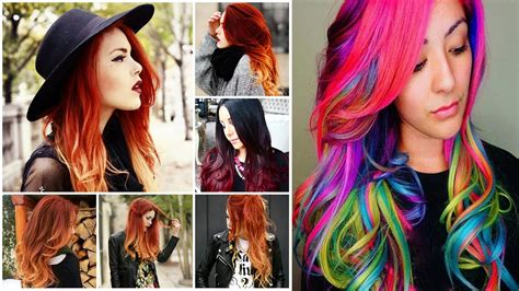 Cool Color Hairstyles cool hair colors cool hair color ideas cool colors