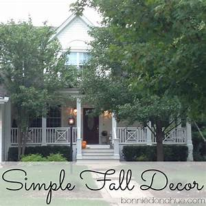Simple Fall Decor For the Home Pinterest Decorating