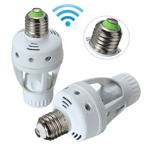 convert e27 sockets into pir motion sensors with this adapter