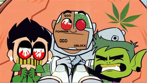 Ghetto Teen Titans Go In The Hood