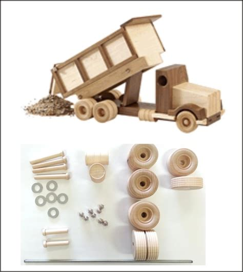 wood magazine construction grade dump truck kit schlabaugh sons