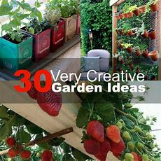 30 Very Creative Garden Ideas 2016