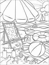 Coloring Beach Crayola Pages Summer Sheets Adult Fun Printable Sommer Ausmalbilder Print Books Bilder Ausmalen Visit Cool Saying Zum sketch template