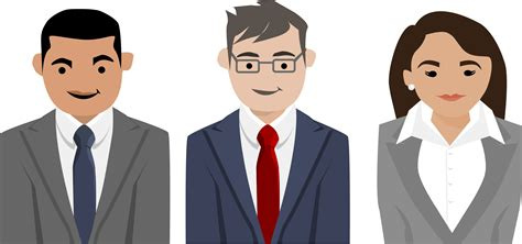business clipart business characters vector clipart image free