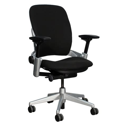 steelcase leap v2 used task chair black national office