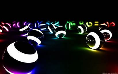 3d Colorful Wallpapers Desktop Backgrounds Cool Balls