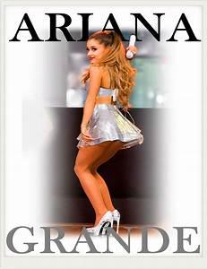 Free Shipping 2015 Custom Sexy Ass Ariana Grande Vintage