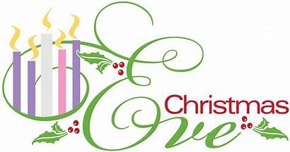 Candlelight Eve Christmas Clipart Clip Religious Service