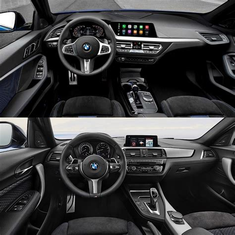 photo comparison  bmw  series   bmw  series
