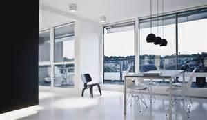 copenhagen design ultra modern black and white copenhagen penthouse design digsdigs