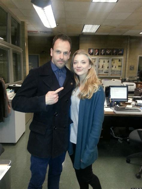 Natalie Dormer Elementary by Natalie Dormer On The Elementary Set With Jonny