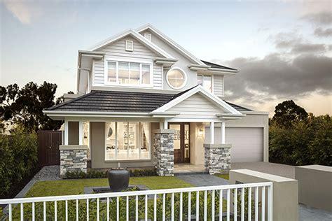 hampton style home designs  metricon homes
